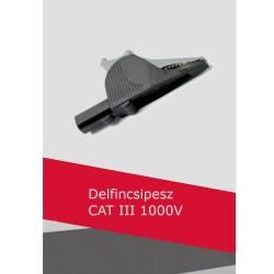 Delfin csipesz CAT III 1000V (fekete)