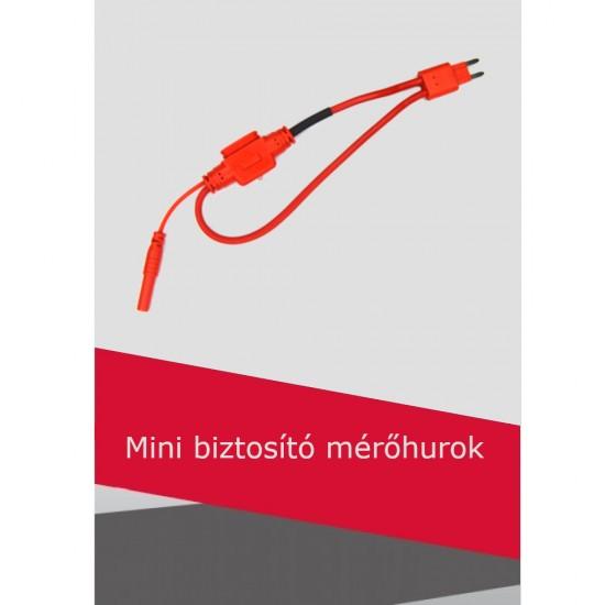 Mini biztosító mérőhurok