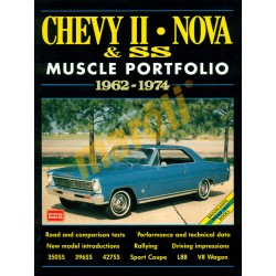Chevy II, Nova & SS Muscle Portolio 1962-1974