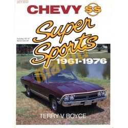 Chevy SS Super Sports 1961-1976 inc. Monte Carlo SS 1983-1987