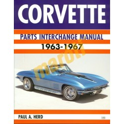 Corvette Parts Interchange Manual